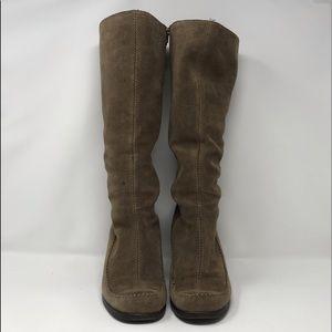 9c0386e1e18b Aerosoles Gather Round Tall Brown Boots 10